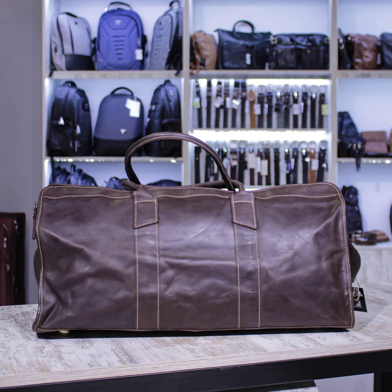 Кожаные дорожные сумки: альтернатива чемодану