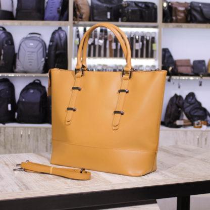 женская сумка оранжевая