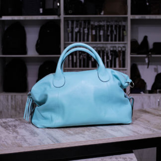 бирюзовая женская сумка