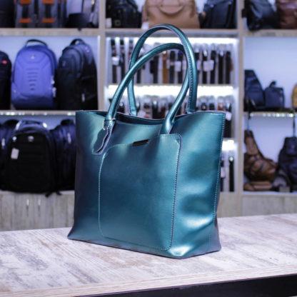 большая зеленая сумка