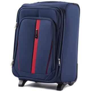 синий чемодан фото
