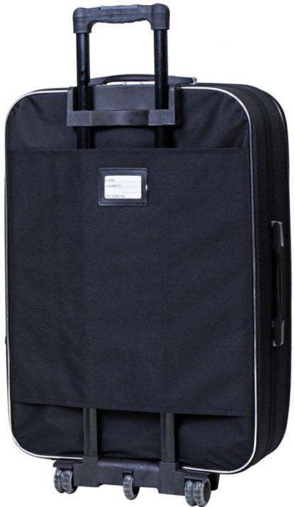 чемодан черный фото