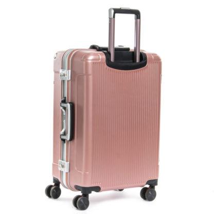 розовый чемодан люкс