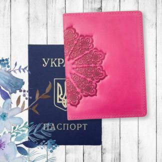 кожаная обложка паспорт