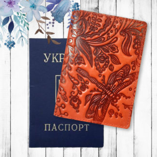 женская обложка на паспорт фото