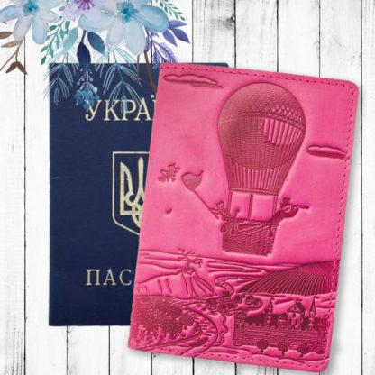 женская обложка для паспорта