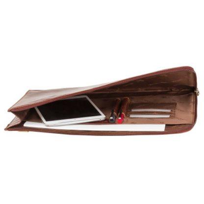 купить кожаную папку для документов А4