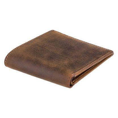коричневый мужской кошелек висконти