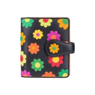 женский кошелек висконти с цветами