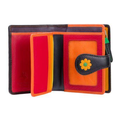 женский кошелек с цветами