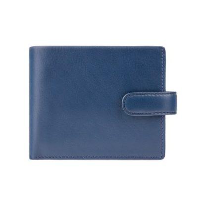 синий мужской кошелек