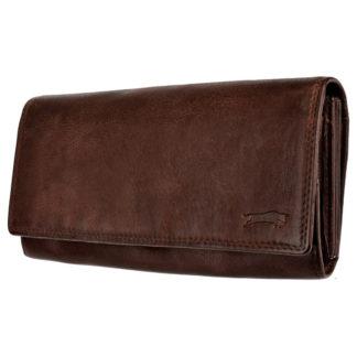 стильный женский кожаный кошелек