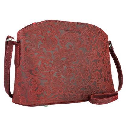 тисненая женская сумка
