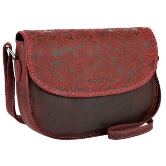 женская сумка тисненая
