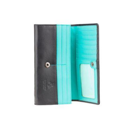 купить голубой женский кошелек