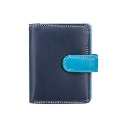 синий женский кошелек