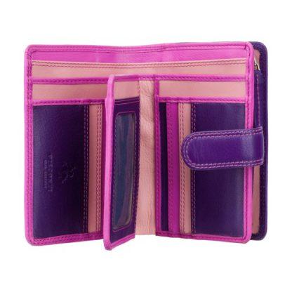 фиолетовый женский кошелек