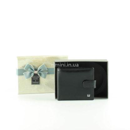 мужской подарочный набор кошелек и ремень в коробке