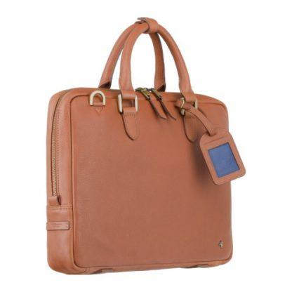 кожаная сумка для документов