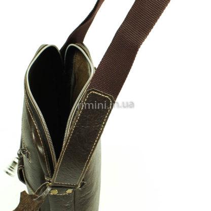 Мужская кожаная сумка RARE 01110Brown