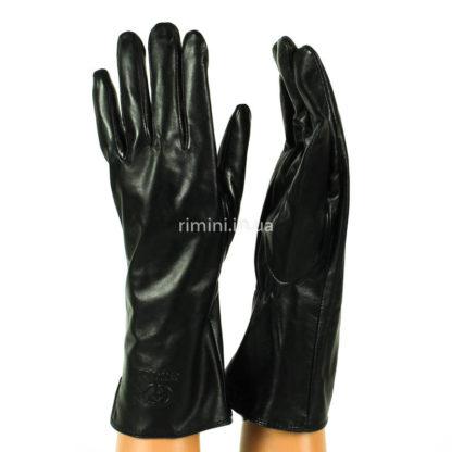 Женские кожаные перчатки 471Black