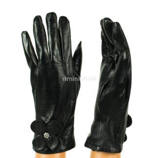 Женские кожаные перчатки 2322Black