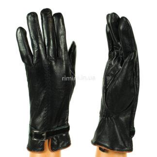 Кожаные женские перчатки 2361Black