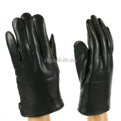 Мужские кожаные перчатки 213Black