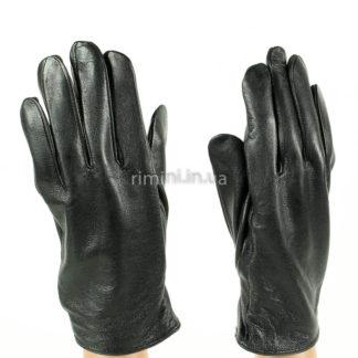 Мужские кожаные перчатки 201Black