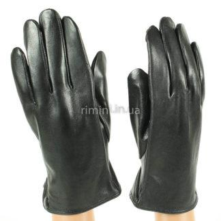 Мужские кожаные перчатки 201Black.plush