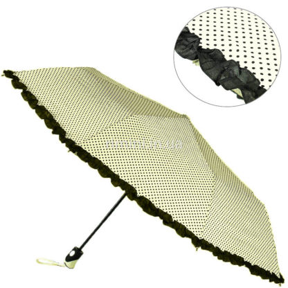 Зонт антиветер, полуавтомат женский 3280/1-0