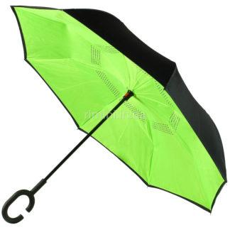 Зонт антиветер, обратного сложения 7777/1-0