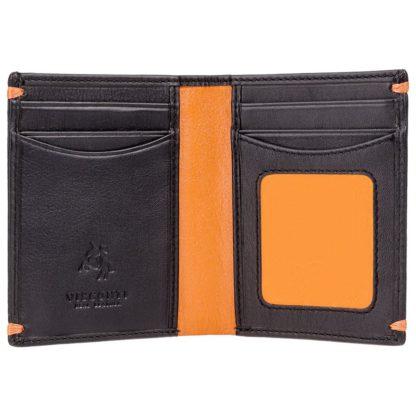 Кошелек мужской Visconti AP60 Thun (Black Orange)