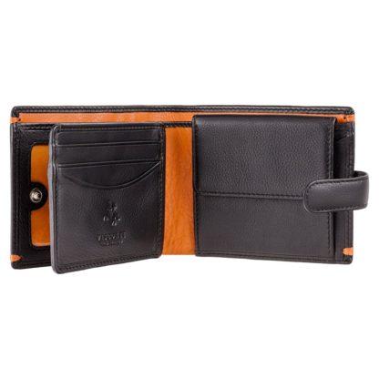 Кошелек мужской Visconti AP63 Lucerne (Black Orange)