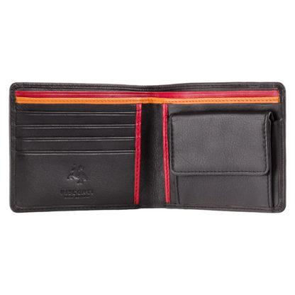 Кошелек мужской Visconti BD10 M (Black Red Orange)
