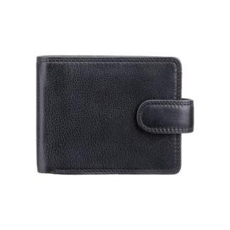 Кошелек мужской Visconti HT10 Knightsbridge c RFID (Black)