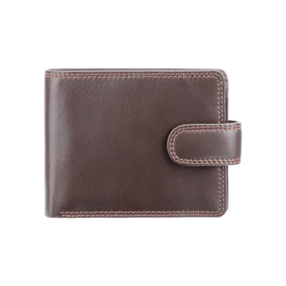 Кошелек мужской Visconti HT10 Knightsbridge c RFID (Chocolate)