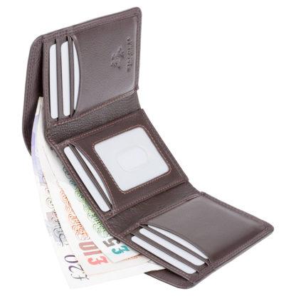 Кошелек мужской Visconti HT18 Compton c RFID (Chocolate)