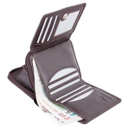 Кошелек женский Visconti HT30 Kew c RFID (Chocolate)