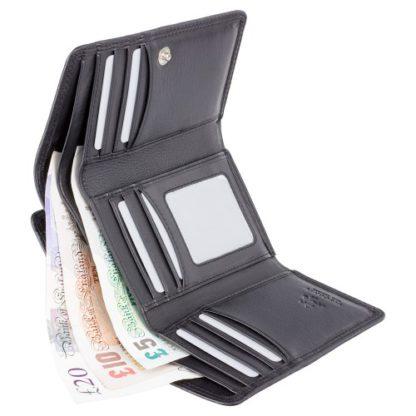Кошелек женский Visconti HT32 Picadilly c RFID (Black)