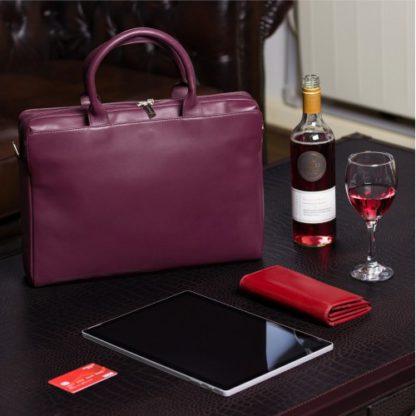 Кошелек женский Visconti MZ10 Florence c RFID (Italian Red)