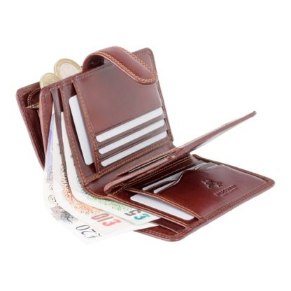 Кошелек женский Visconti MZ11 Venice c RFID (Italian Brown)