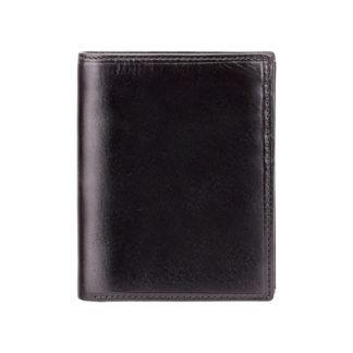 Кошелек мужской Visconti MZ3 Milan c RFID (Italian Black)