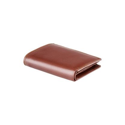 Кошелек мужской Visconti MZ3 Milan c RFID (Italian Brown)