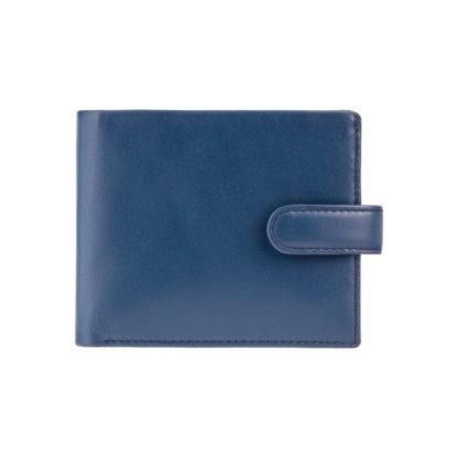 Кошелек мужской Visconti PM100 Vincent c RFID (Blue Mustard)