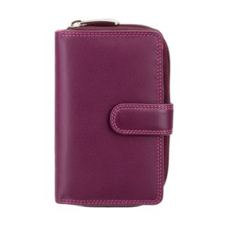 Кошелек женский Visconti R13 Carmelo c RFID (Plum Multi)