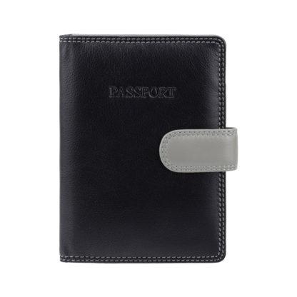 Обложка для паспорта Visconti RB75 Sumba (Black Multi)