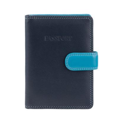 Обложка для паспорта Visconti RB75 Sumba (Blue Multi)