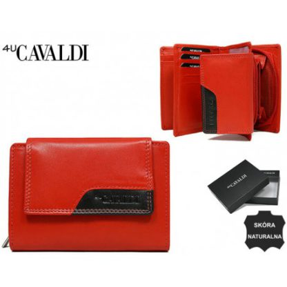 Кошелек женский Cavaldi RD-01-CMN RED-BLK