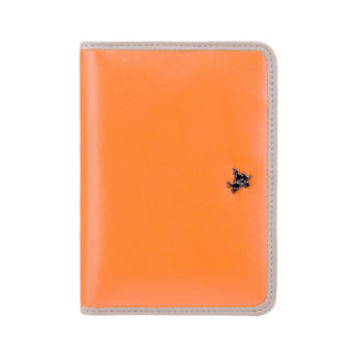 Обложка для паспорта Visconti RD93 Hummingbird (Orange Taupe)